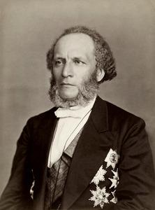 Portretfoto van Piotr Semionov-Tian-Chanski (1827 - 1914)
