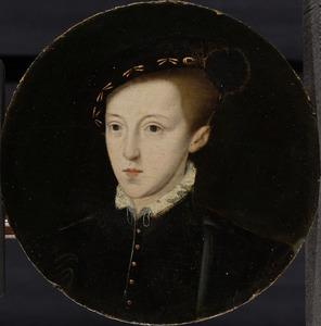 Portret van Eduard VI Tudor (1537-1553), koning van Engeland