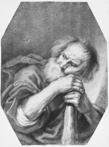 De apostel Jacobus Minor (of Judas Thaddeus?)