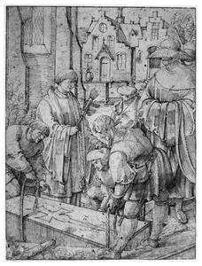 Het begraven van de doden (een van de werken van barmhartigheid)