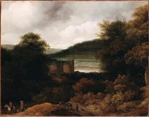 Gezicht op de Rijn