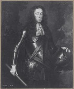 Portret van Willem III van Oranje-Nassau (1750-1702)