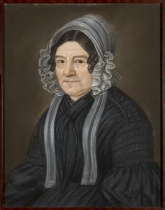 Portret van een vrouw, mogelijk Anna Barbara van Trojen (1770-1856)