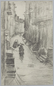Regenachtig straatje