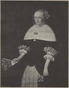 Portret van een vrouw, 1661