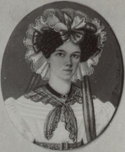 Portret van Annette Maria Becquer (1804-1885)