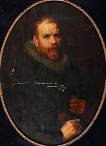 Portret van Abraham de Vos (....-1646)