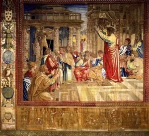 Prediking van Paulus in Athene