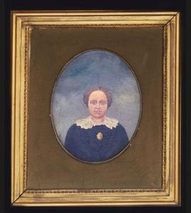 Portret van Augusta Carolina Gehne (1824-1891)