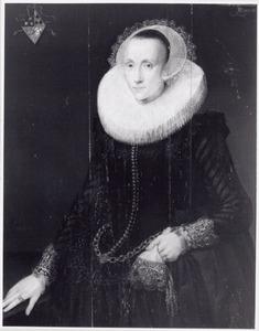 Portret van Maria Pellicorne