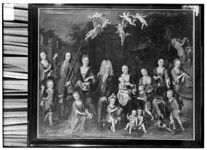 Portret van familie van den Steen
