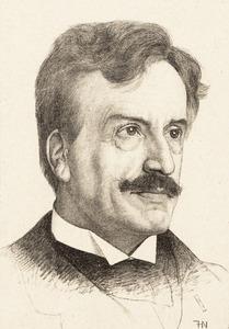 Portret van Gerardus Antonius van Hamel (1842-1917)