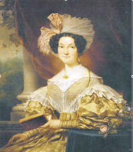 Portret van Anna Agneta Smissaert (1806-1865)