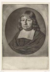 Portret van Isaac Pontanus (....-1710)