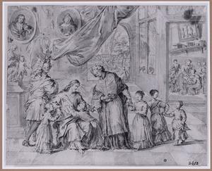 Christus zegent de kinderen (Laat de kinderen tot Mij komen) (Mattheüs 19:13-15)