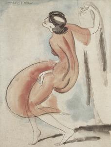 De danseres Gertrud Louise Leistikow (1885-1948)