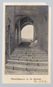 Namiddagzon in de Kasbah