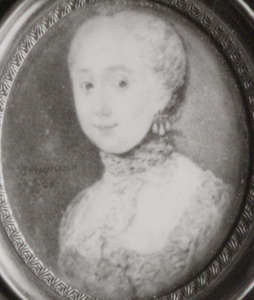Portret van waarschijnlijk Ursula Philippota van Reede (1709-1778)