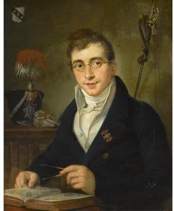 Portret van Gerard Johannes Beeldsnijder (1791-1853)