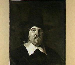 Portret van Abraham de Visscher (1605-1667)