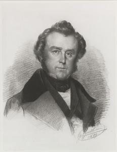 Portret van Christiaan Kramm (1797-1875)