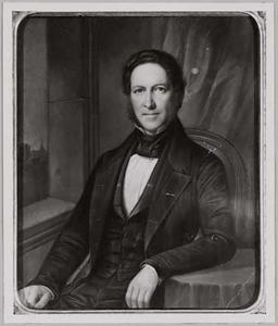 Portret van Jacob Maarten Deutz van Assendelft (1803-1858)