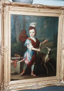 Portret van Johan van Barnevelt (1704-1734)