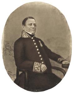 Portret van Daniel François Willem Pietermaat (1790-1848)