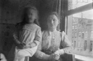 Dubbelportret met waarschijnlijk Lise Jordan