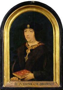 Portret van een man, hoogstwaarschijnlijk Engelbert II (1451-1504), graaf van Nassau, heer van Breda