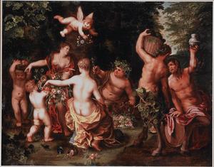 Sine Cerere et Baccho friget Venus: allegorie op het goede leven
