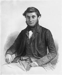 Portret van Willem Frederik Alexander Cores de Vries ( -1864)