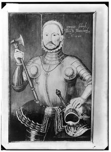 Portret van George (Georgius) Schenck van Toutenburg (....-1540)
