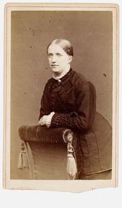 Portret van Geerte Onnen (1851-1889)