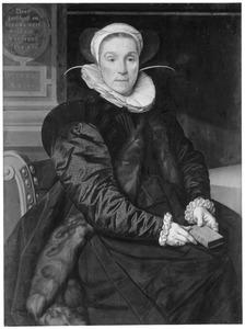 Portret van Maria Claesdr. Chijs ( 1545-1602), echtgenote van Job Cornelisz. Coster