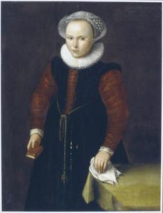 Portret van onbekend meisje