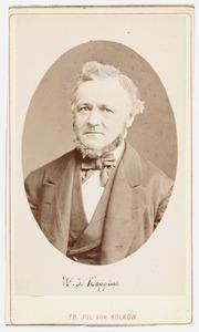 Portret van Wibrandus Joannes Koppius (1774-1859)