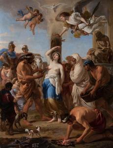 Het martelaarschap van de H. Agatha