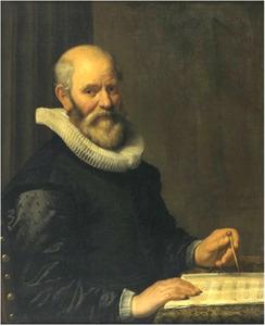 Portret van Cornelis Danckerts de Rij (1561-1634)