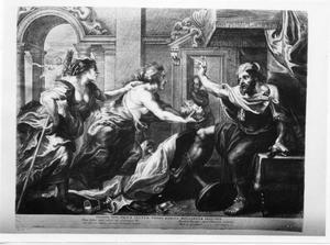 Het banket van Tereus (Ovidius, Metamorfosen, VI, 647-674)