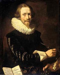 Zelfportret van Abraham de Vries