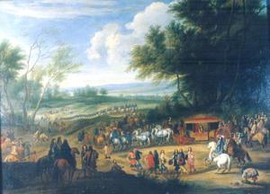 Lodewijk XIV bij Vincennes