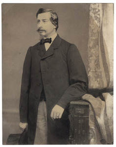 Portret van Francois Willem Lambert van Eck (1825-1888)