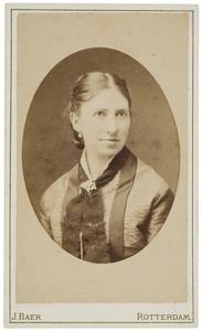 Portret van Maria Beerte van der Haer (1843-1888)