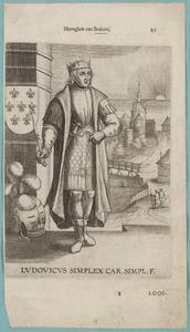 Portret van Lodewijk IV 'de eenvoudige' van Brabant (0920/0921-0954)