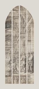 De aankondiging van de geboorte van Johannes de Doper (carton 9)