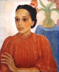 Portret van Rinia Klokke-Moll