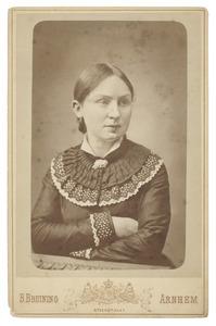 Portret van Maria Clasina Geertruida Moorrees (1864-1943)