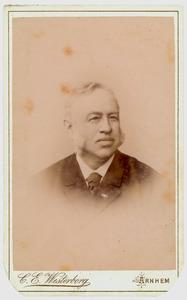 Portret van Hendrik Willem Fangman (1830-1914)