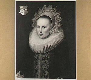 Portret van Carolina van Beveren (1598-1625), echtgenote van Adriaan van Blyenburg